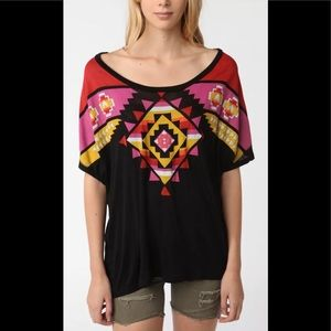 Urban Outfitters Staring at Stars Aztec Tee